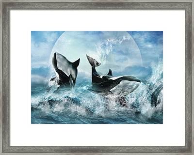 Forever Framed Print by Trudi Simmonds