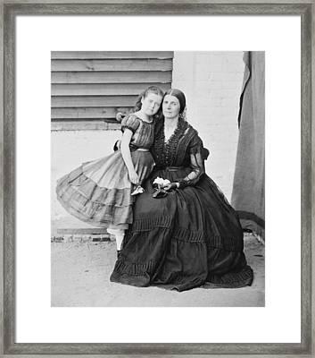 Mrs. Rose O�neal Greenhow Framed Print by Everett