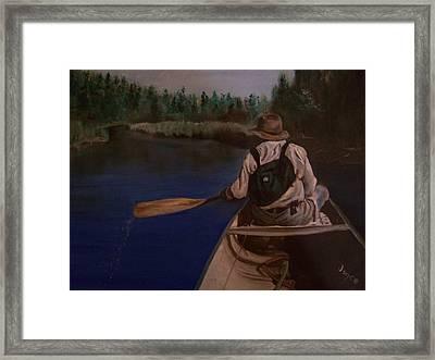 New Discovery Framed Print by Joyce Reid