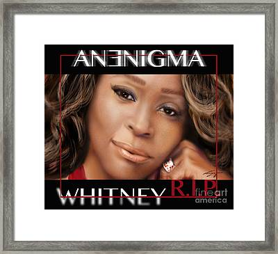 No Bread Crumbs Along The Way-whitney Framed Print by Reggie Duffie