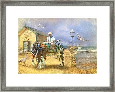 The Pelican Pantry Framed Print by Trudi Simmonds
