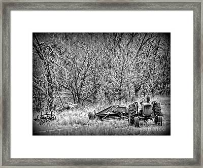 Tractor Days Framed Print by Michelle Frizzell-Thompson