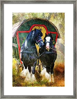 Travellers Framed Print by Trudi Simmonds