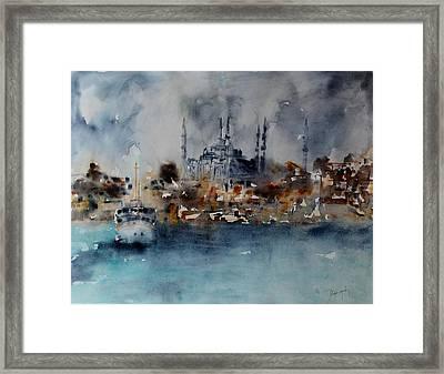 W 55 Istanbul Framed Print by Dogan Soysal