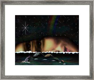 01904015col Framed Print by Michael Yacono