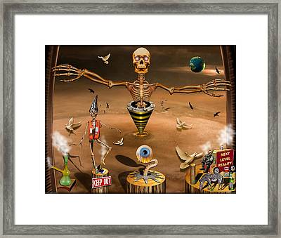 01904022col Framed Print by Michael Yacono