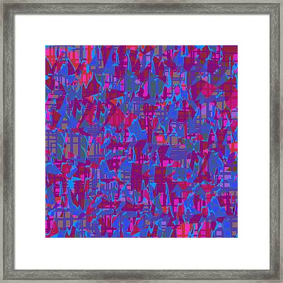 0671 Abstract Thought Framed Print by Chowdary V Arikatla