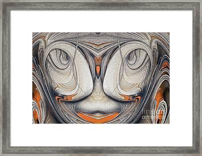 Look Framed Print by Odon Czintos