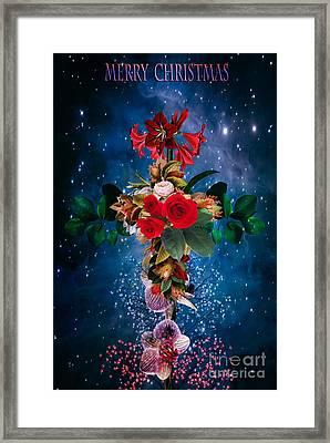 Merry Christmas Framed Print by Andrzej Szczerski
