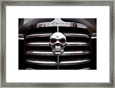 1938 Oldsmobile Business Coupe Framed Print by David Patterson
