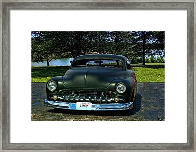 1949 Mercury Lead Sled Framed Print by Tim McCullough