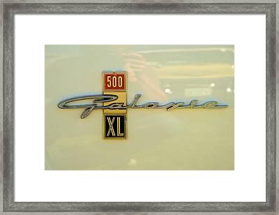 1963 Ford Galaxie Framed Print by Mark Dodd