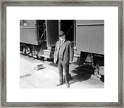 A. Mitchell Palmer, Attorney General Framed Print by Everett