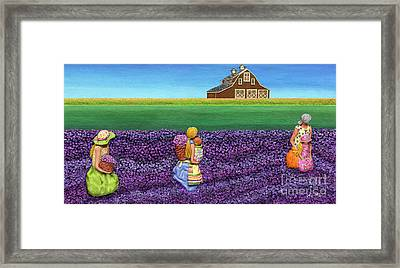 A Moment Framed Print by Anne Klar