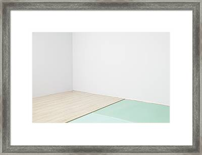 A Room With Partly Installed Laminate Framed Print by Magomed Magomedagaev
