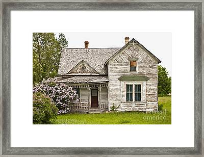 Abandoned Country Home Framed Print by Dave & Les Jacobs