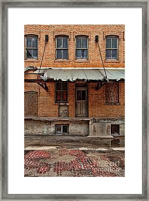 Abandoned Warehouse Framed Print by Jill Battaglia