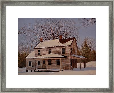 After The Storm Framed Print by AnnaJo Vahle