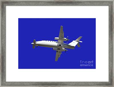 Airplane Framed Print by Mats Silvan