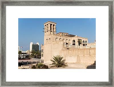 Al Bastakiya District Framed Print by Fabrizio Troiani