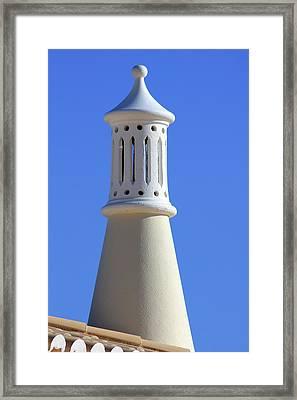 Algarve Region Typical Chimney Framed Print by by Carlos Esteves TOP Photography