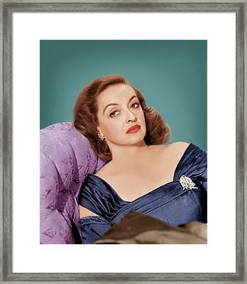 All About Eve, Bette Davis, 1950 Framed Print by Everett