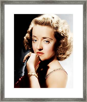 All This, And Heaven Too, Bette Davis Framed Print by Everett
