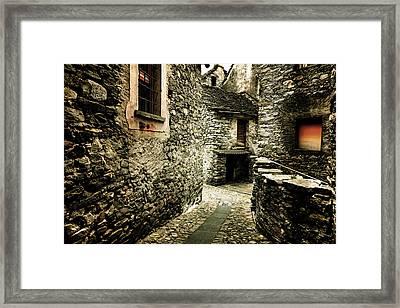 Alley Framed Print by Joana Kruse