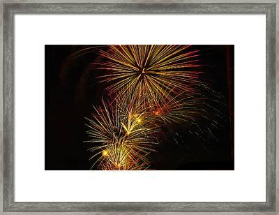 American Pinwheel Framed Print by Joshua Dwyer