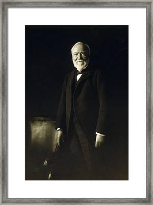 Andrew Carnegie, April 5, 1913 Framed Print by Everett