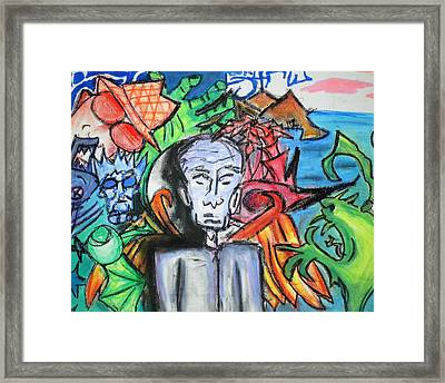 Angel In Disguise Framed Print by Jera Sky