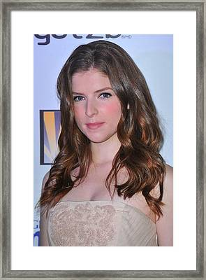 Anna Kendrick At Arrivals For 2011 Framed Print by Everett
