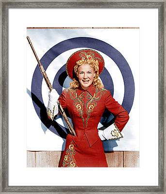 Annie Get Your Gun, Betty Hutton, 1950 Framed Print by Everett