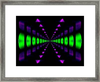 Any Way You Slice It Framed Print by Tim Allen