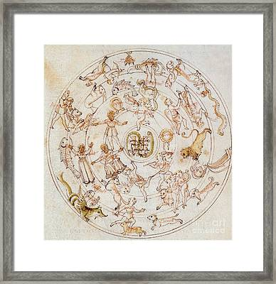 Aratuss Constellations Framed Print by Science Source