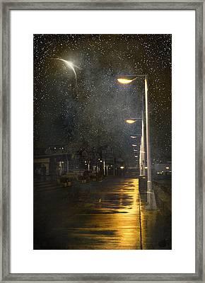 at Night Framed Print by Svetlana Sewell