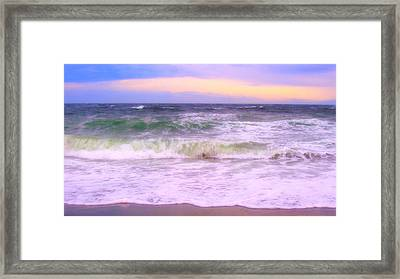 At The Seashore Framed Print by Marilyn Wilson
