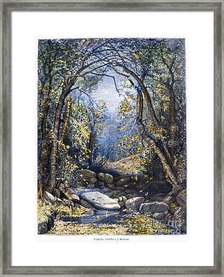 Autumn, 1873 Framed Print by Granger