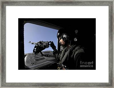 Aviation Warfare Systems Operator Framed Print by Stocktrek Images