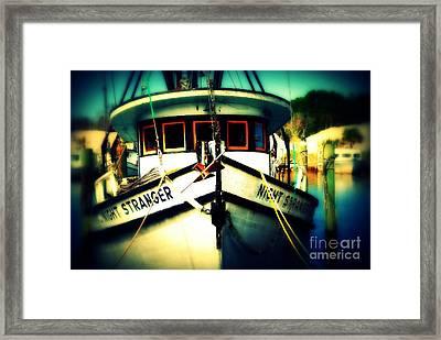 Back In The Harbor Framed Print by Susanne Van Hulst