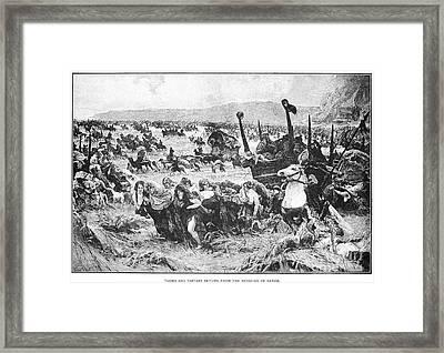Balkan Insurgency, 1876 Framed Print by Granger
