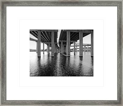 Baltimore By-pass Framed Print by Brian Wallace