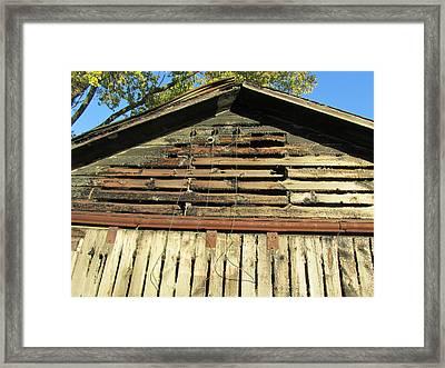 Barn-14 Framed Print by Todd Sherlock