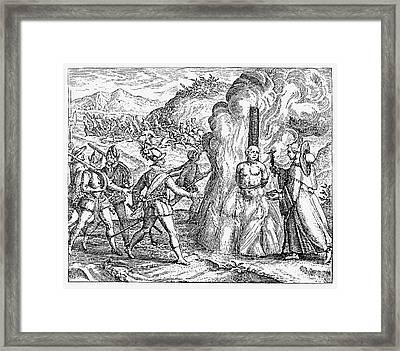 Bartolome De Las Casas Framed Print by Granger