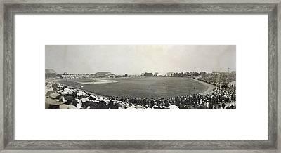 Baseball Game, 1904 Framed Print by Granger