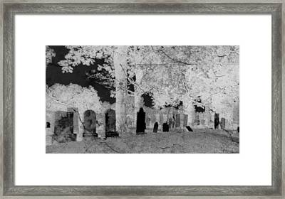 Be Afraid... Framed Print by Rhonda Barrett