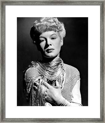 Betty Hutton, Ca. Early 1940s Framed Print by Everett