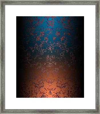 Beyond Lava Lamps Framed Print by Christopher Gaston