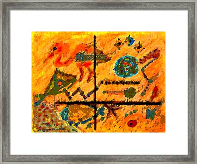 Bliss Is A Constant Framed Print by Patricia Januszkiewicz