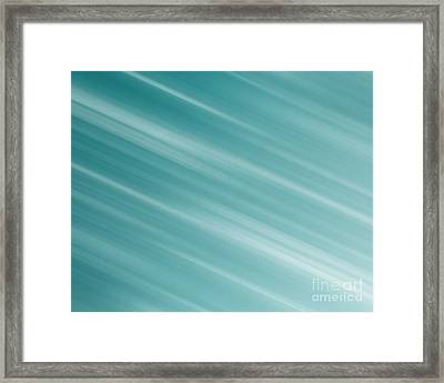 Blue Background Framed Print by Blink Images